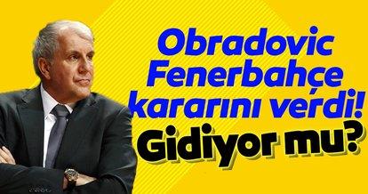 Zeljko Obradovic kararını verdi! Fenerbahçe Beko...