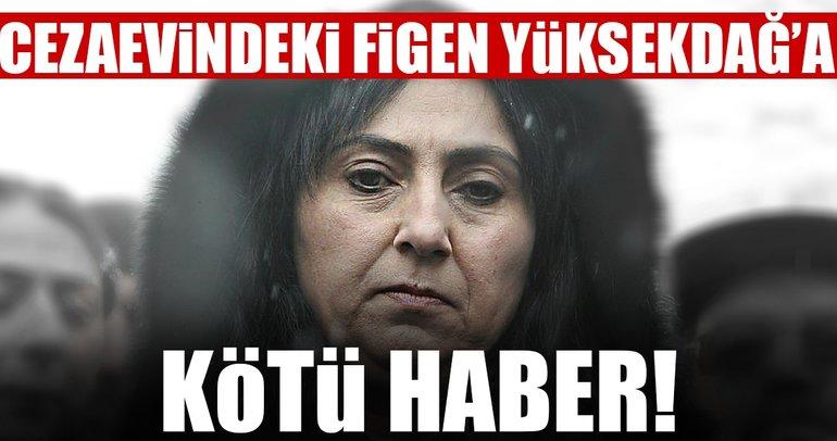 Son dakika: Figen Yüksekdağ'a mahkemeden bir şok daha