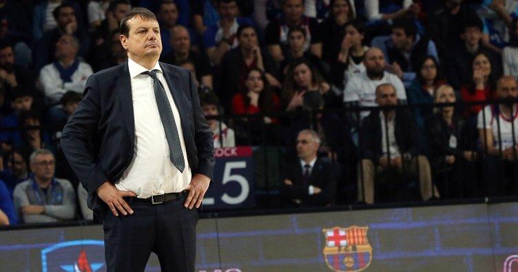 Ergin Ataman: Barcelona'ya 2-0 gitmeliyiz
