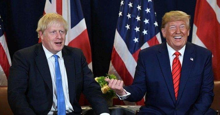 Boris Johnson ile Donald Trump telefonda görüştü