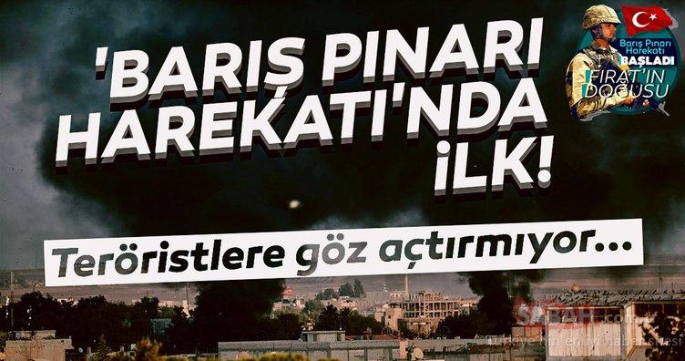 'Barış Pınarı Harekatı'nda ilk!