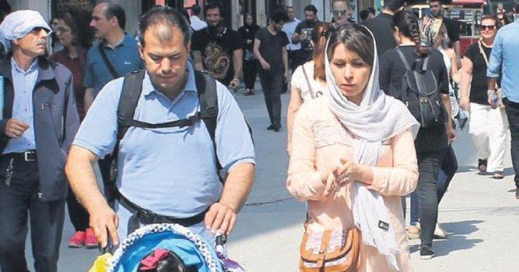Taksim'e İranlı akını