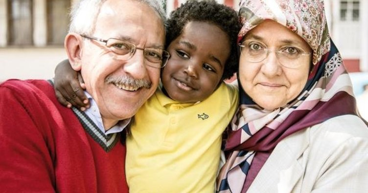 Müsteşarın 3. evladı Afrikalı Adem oldu
