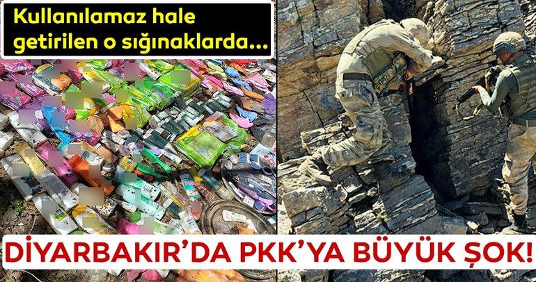 Diyarbakır'da PKK'ya büyük operasyon! Tek tek imha edildi...