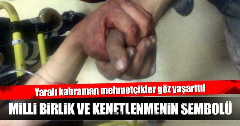 Yaralı kahraman Mehmetçikler göz yaşarttı!