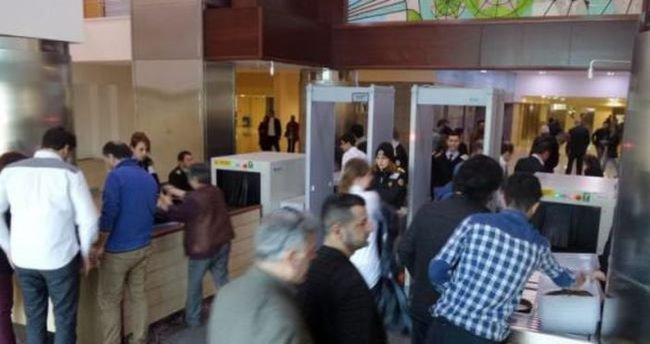 Adliye polisi İstanbul Barosu'nu uyarmıştı