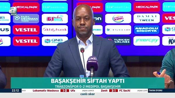 Trabzonspor Teknik Direktörü Eddie Newton: Kesinlikle memnun değilim