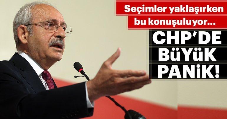 CHP'de yerel seçimler öncesi büyük panik