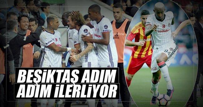 Beşiktaş adım adım ilerliyor