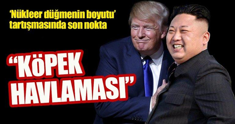 Kuzey Kore'den Trump'a cevap!