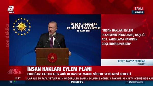 Son dakika! Başkan Erdoğan açıkladı. Hakim ve savcı yardımcılığı geliyor   Video