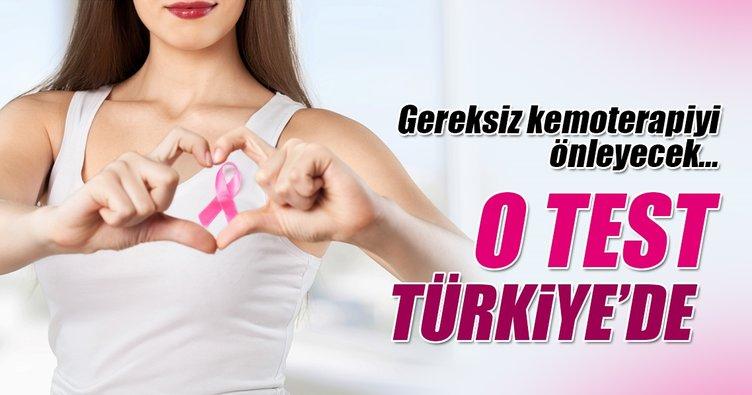 Meme kanserinde gereksiz kemoterapiyi önleyen test Türkiye'de