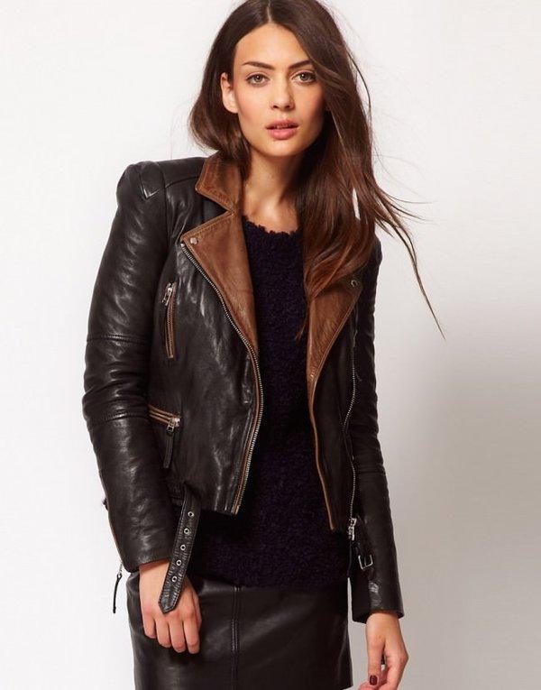 2017 Deri Ceket Mont Modelleri (Bayan)