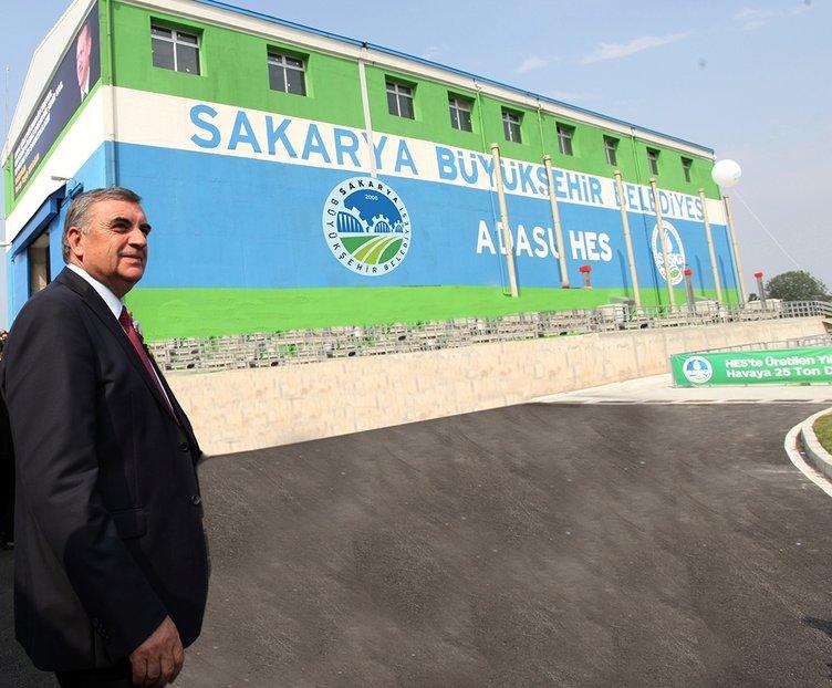 Adasu HES projesi 28 milyon lira değerinde enerji üretiyor
