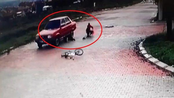 Uşak'taki dehşetin görüntüleri ortaya çıktı! Yaşadığı şokla... | Video