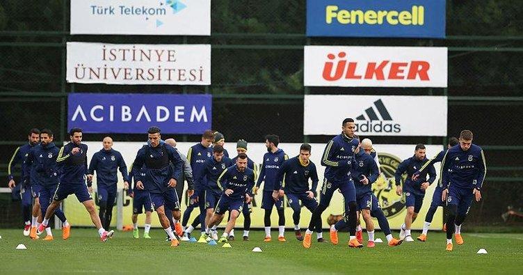 Fenerbahçe, Aytemiz Alanyaspor maçının hazırlıklarını sürdürdü