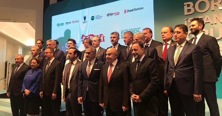Türk futbolunun kalbi Uluslararası Futbol Ekonomi Forumu'nda attı