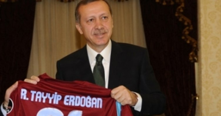 Cumhurbaşkanı Erdoğan'dan Trabzonspor'a kutlama mesajı