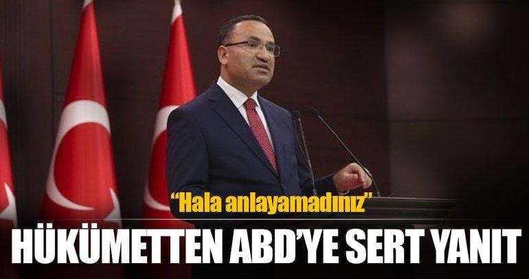 Son dakika: Bozdağ'dan flaş Afrin açıklaması