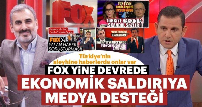 FOX TV ekonomik savaşın tetikçiliğini yapıyor!