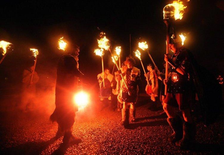 Ateş festivalinde final