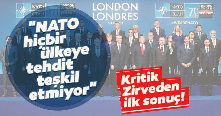 Son dakika: NATO'dan Londra bildirgesi