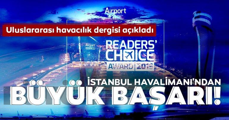 İstanbul Havalimanı, yılın havalimanı olmaya aday