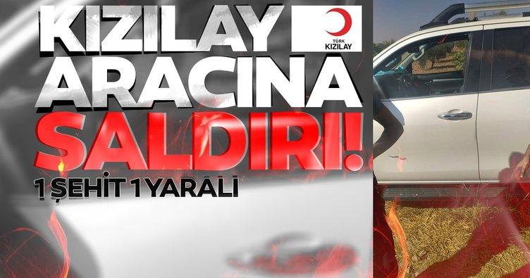 Son dakika haberi: Suriye'nin kuzeyinde Türk Kızılay aracına kalleş saldırı