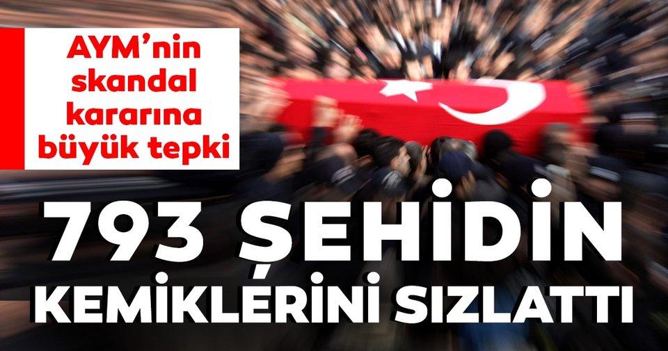 Anayasa Mahkemesi Nin Skandal Karari 793 Sehidin