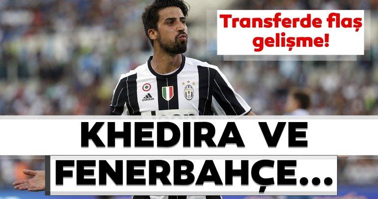 Son dakika transfer haberi: Sami Khedira'dan flaş Fenerbahçe kararı