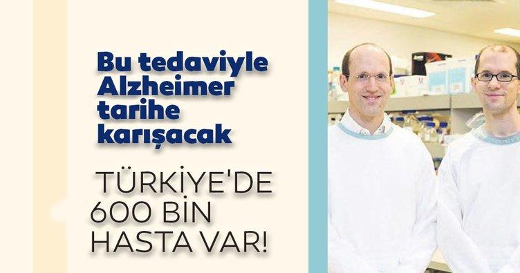 Bu tedaviyle Alzheimer tarihe karışacak