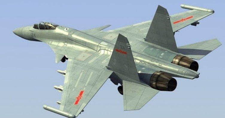 Çin'e ait 12 savaş uçağı, Tayvan hava savunma sahasını ihlal etti