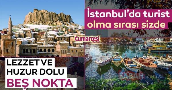 İstanbul'da turist olma sırası sizde