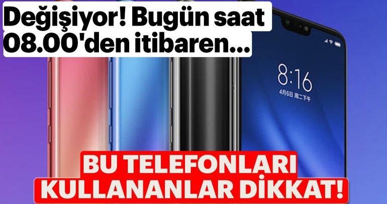 Eğer bu model telefonunuz varsa dikkat! Android'de değişikliğe gidildi kontrol edin...
