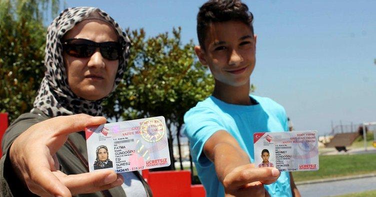 Özel halk otobüsünün şoförü 1 lira için şehit çocuğuna tokat attı