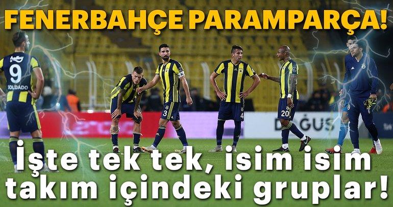 Fenerbahçe'de takım içi gruplar belli oldu! İşte tek tek o isimler...