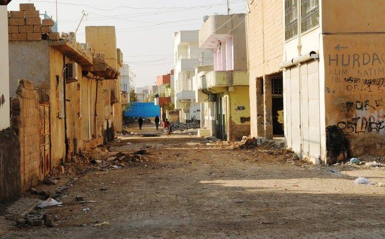 Nusaybin'deki sokağa çıkma yasağı