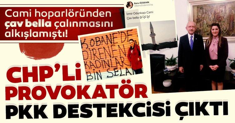 Cami'den çalan Çav Bella'yı destekleyen CHP'linin 'PKK' selamı ortaya çıktı