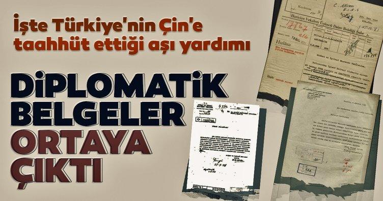 Son dakika: O diplomatik belgeler ortaya çıktı! İşte Türkiye'nin Çin'e taahhüt ettiği aşı yardımı