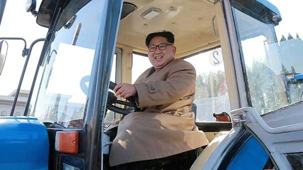 Kuzey Kore'den yeni fotoğraflar! Füze yerine...