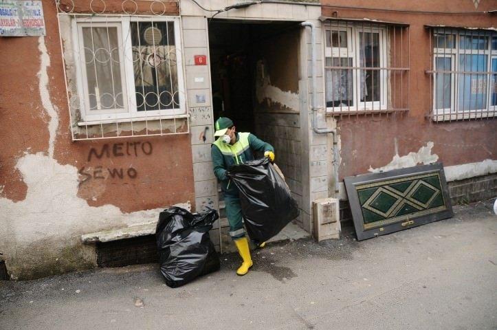 Prensesin evinden 10 ton çöp çıktı