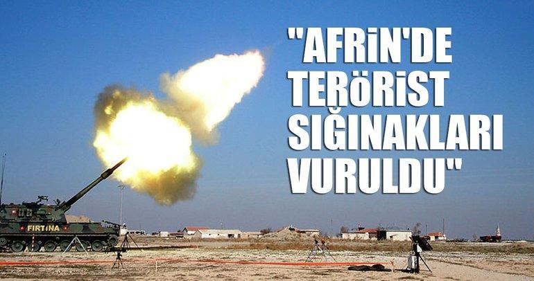 Son dakika 'Afrin' açıklaması