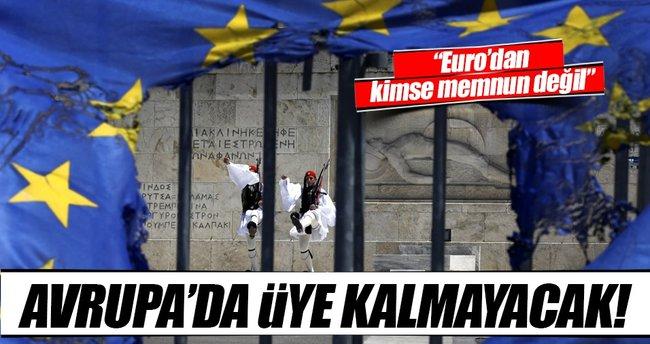 On yıla kadar Euro bölgesinden kopuşlar olabilir