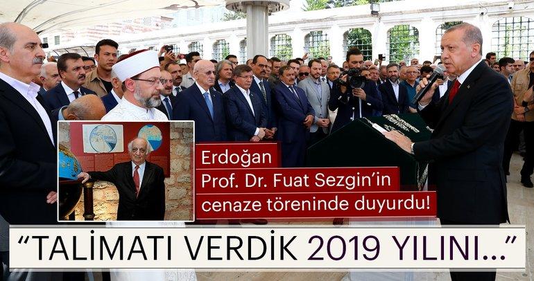 İslam Bilimi Tarihi Araştırmacısı Prof. Dr. Fuat Sezgin'e son veda...