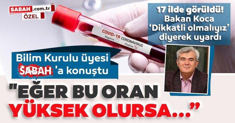 SON DAKİKA   Bilim Kurulu Üyesi Prof. Dr. Mustafa Hasöksüz açıkladı: Eğer bu oran yüksek olursa...