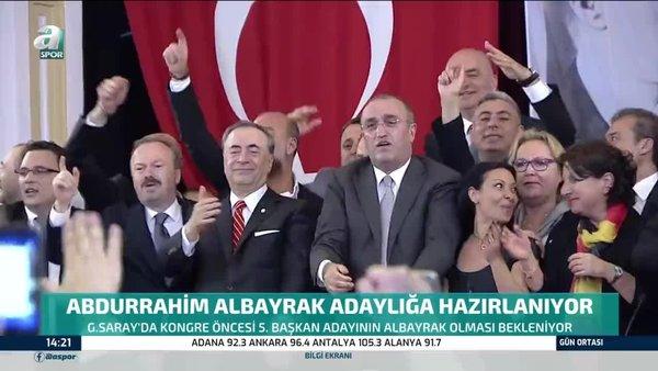 Abdurrahim Albayrak Galatasaray'da adaylığa hazırlanıyor!