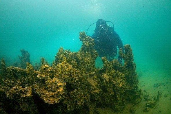 Van Gölü'nde yeni mikrobiyalit alanları bulundu