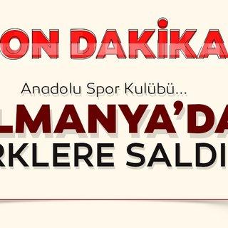 SON DAKİKA HABERİ! Almanya'da Türk spor kulübüne ırkçı saldırı