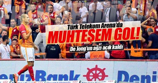 Türk Telekom Arena'da muhteşem gol!
