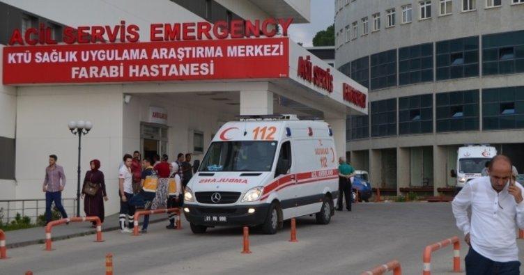 Trabzon'da patlama: 2 asker yaralı!